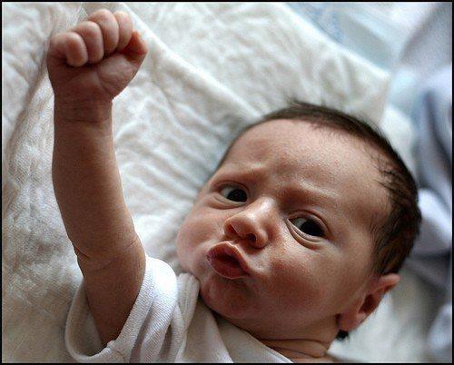 Nuestros hijos nacerán con el puño en alto